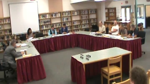 Thumbnail for entry Hackettstown Board of Education Meeting - July 20th, 2016