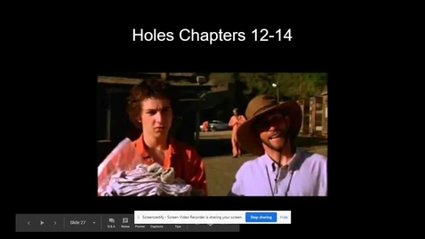 Thumbnail for entry Holes Chapters 12-14.webm