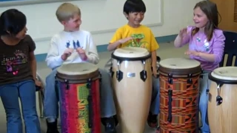 Thumbnail for entry Drumming