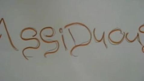 Thumbnail for entry ASSIDUOUS - Brainyflix.com Vocab contest