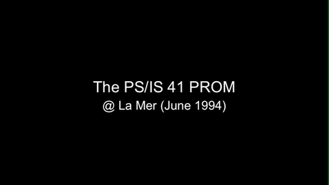 Thumbnail for entry (1994) Prom - Better Version
