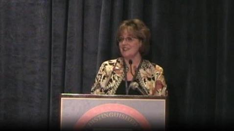 Thumbnail for entry Anita Harris of Oregon NDP award speech