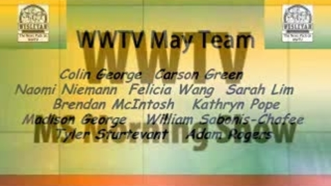 Thumbnail for entry WWTV Monday May 11, 2015