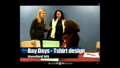Thumbnail for entry Bay Days Tshirt design activity