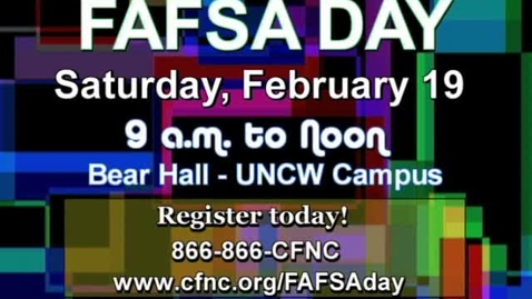 Thumbnail for entry FAFSA Promo
