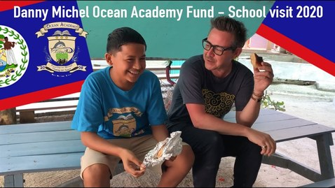 Thumbnail for entry Danny Michel Ocean Academy Fund (School visit 2020)