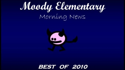 Thumbnail for entry Morning News - Best Of 2010