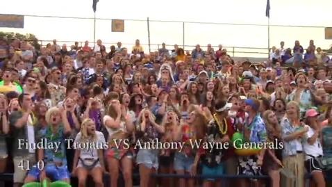 Thumbnail for entry Findlay vs. Anthony Wayne Football Highlights