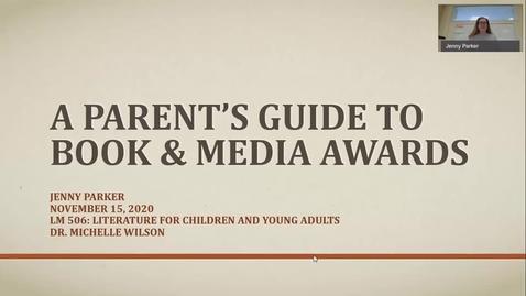 Thumbnail for entry Parker_Book & Media Awards