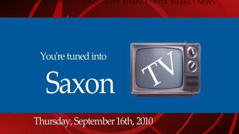 Thumbnail for entry SaxonTV Episode 09162010