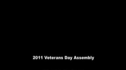 Thumbnail for entry 2011 WHS/Neumann Veterans Day Assembly