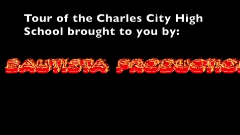 Thumbnail for entry Tour of the Charles City High School