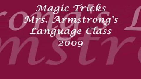 Thumbnail for entry Magic Tricks 2009