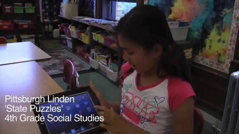Thumbnail for entry Using iPads in 4th Grade Social Studies