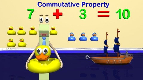 Thumbnail for entry Addition and Subtraction Strategies 1st Grade Math - Commutative and Associative Property