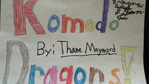 Thumbnail for entry Komodo Dragons