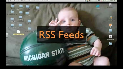 Thumbnail for entry RSS Feeds - Bring the news to you