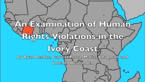 Thumbnail for entry 4, Ivory Coast