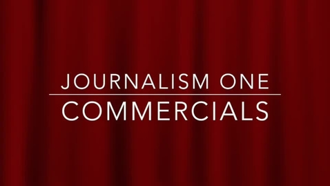 Thumbnail for entry Journalism One Commercials