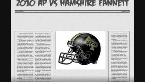 Thumbnail for entry AP vs Hamshire Fannett