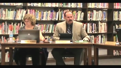 Thumbnail for entry 5/9/13 School Board Meeting