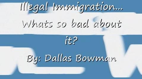 Thumbnail for entry Dallas Bowman's PSA