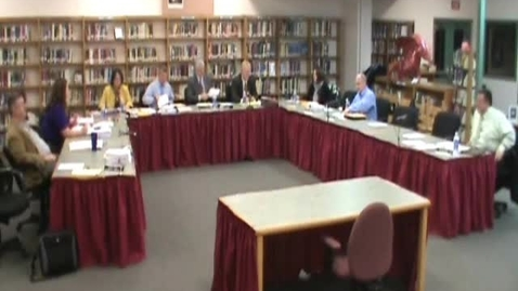 Thumbnail for entry Hackettstown Board of Education Meeting (1/11/2012) Part Two