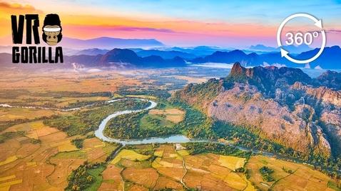 Thumbnail for entry Discover Laos: Luang Prabang & Vang Vieng Guided Tour (360 VR Video)