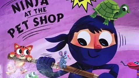 Thumbnail for entry Ninja at the Pet Shop