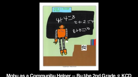 Thumbnail for entry Moby As... a Community Helper!