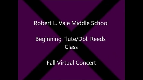 Thumbnail for entry 2012-2013 Beg. Flute & Double Reeds Fall Concert