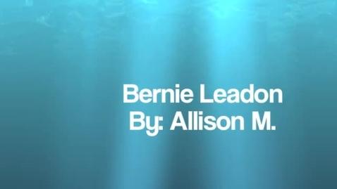 Thumbnail for entry Allisons Bernie Leadon movie 2