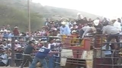 Thumbnail for entry Mexican Bull Riding ftw!