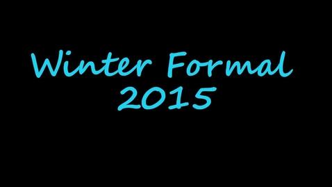 Thumbnail for entry Winterfest Dance 2015
