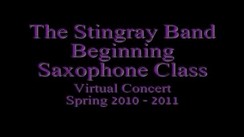Thumbnail for entry Beginner Saxophone