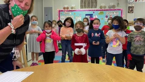 Thumbnail for entry Kindergarten Away in the Manger