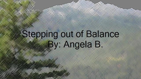 Thumbnail for entry Stepping Out of Balance