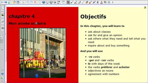 Thumbnail for entry Bien Dit 1 Chapitre 4 Vocabulaire 2
