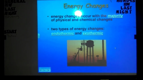 Thumbnail for entry Unit 2 States of Matter Energy (February 6, 2013)