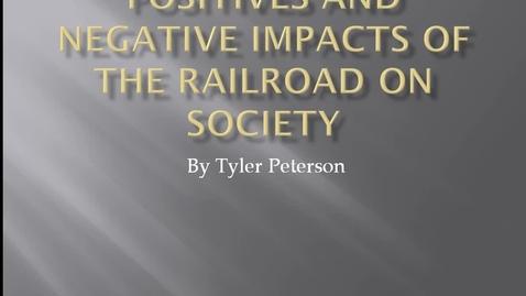 Thumbnail for entry Railroads impact