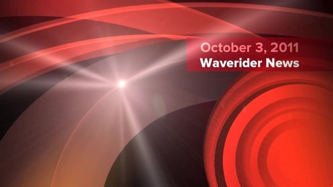 Thumbnail for entry Waverider News 10-3-11