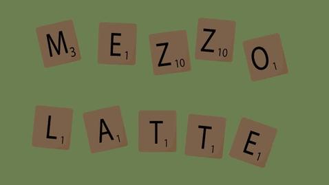 Thumbnail for entry Mezzo Latte