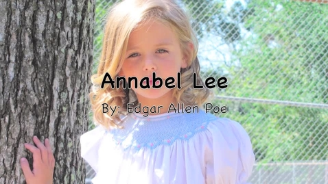 Thumbnail for entry Annabel Lee