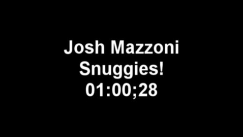 Thumbnail for entry Snuggies by Josh Mazzoni