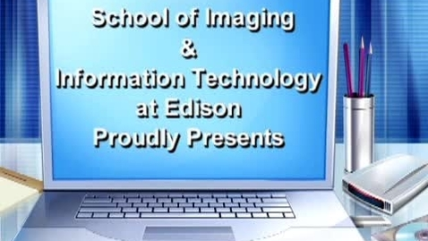 Thumbnail for entry Eye on IIT - School of Imaging & Information Technology at Edison Recruitment