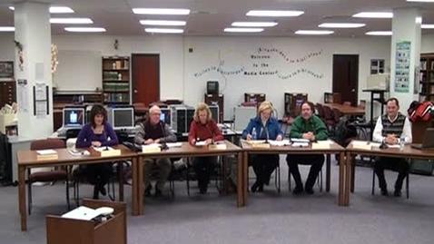 Thumbnail for entry 1/13/11 Warren County School Board Meeting
