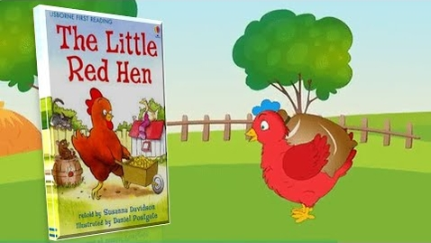 Thumbnail for entry The Little Red Hen -kids books read aloud -preschool books read along -kindergarten books read along