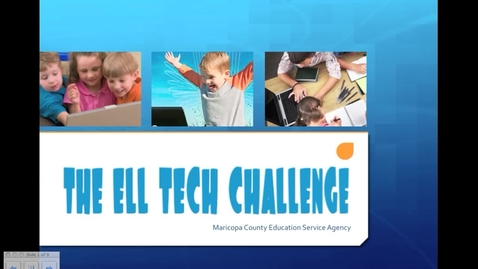 Thumbnail for entry ELL Tech Challenge Information Session