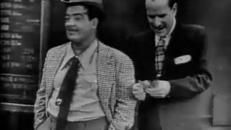 """Thumbnail for entry Abbott & Costello: """"Two Tens for a Five"""""""