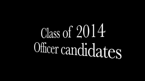 Thumbnail for entry PTHS Class of 2014 Officer Speeches